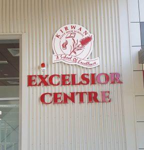 Kirwan School Hall Entry Signs Townsville