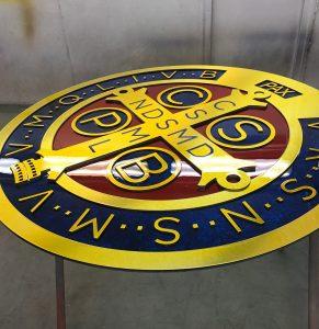 School Crest Signs Townsville